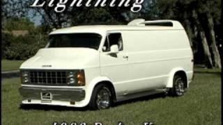 Dodge Van. Lightning, Custom 1983 Dodge Van