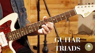 Electric Guitar - Triads