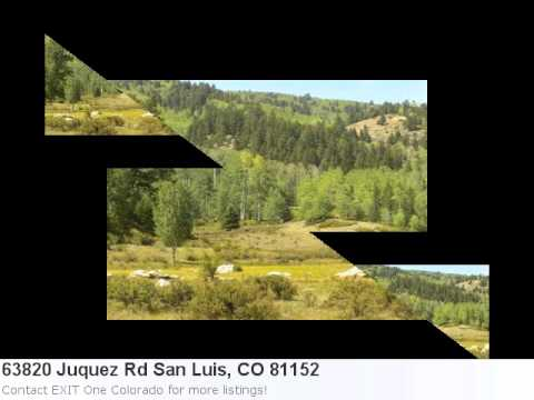 Real Estate Listing For San Luis, Co- 63820 Juquez Rd. Take