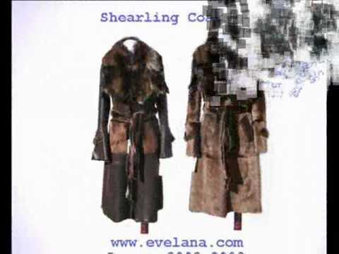 Shearling coats toronto canada - YouTube