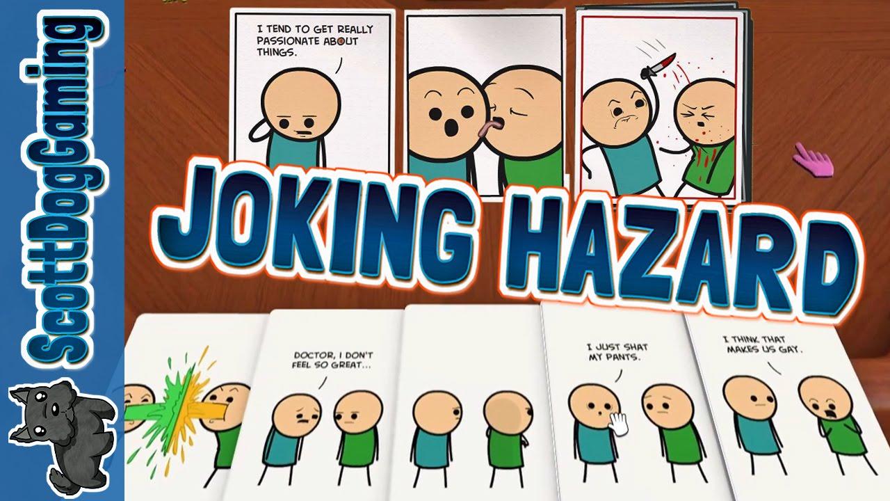 Joking Hazard Rocking Ttties Tabletop Simulator Scottdoggaming Funny Card Games You