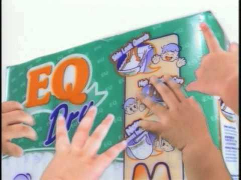 "EQ Dry Diaper ""Manifesto"" 30s tv commercial"