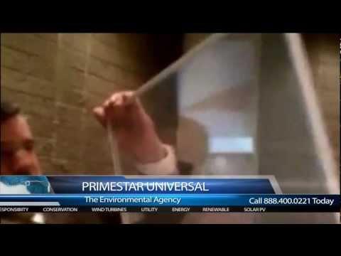 Primestar Universal Environment Solar Glass for Buildings