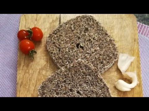 Keto flaxseed bread/Low carb bread in 2 minutes (AMAZING)