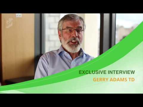 Exclusive: Gerry Adams interview