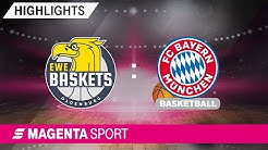 EWE Baskets Oldenburg - FC Bayern Basketball | 4. Spieltag, 19/20 | MAGENTA SPORT
