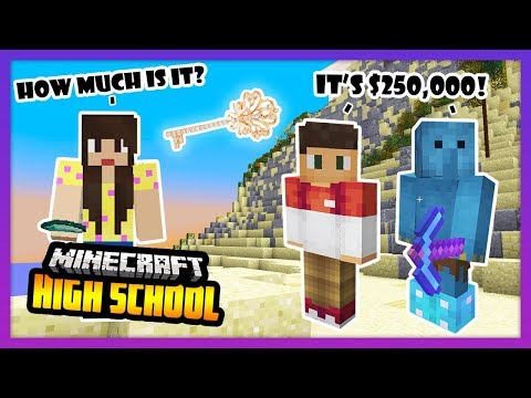 BUYING A $250,000 RARE KEY! WHAT WILL I OPEN!? - Minecraft High School
