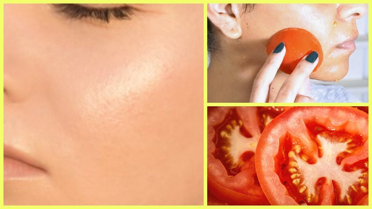 Remove Dark Spots In 3 Days Tomato Face Mask To Get Rid Of Uneven Skin Tone And Wrinkles Youtube