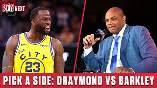 Draymond or Barkley? Whose side are you on in this feud   SFY NEXT
