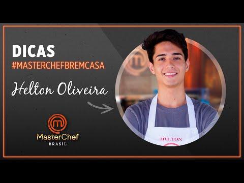 CAROLINAS com Helton Oliveira | #MASTERCHEFBREMCASA