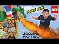 LEGOLAND HOTEL Grand Opening in Florida + DRAGON SCARE CAM! Best Day Ever w  Amusement Park Fun