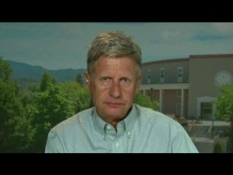 Gary Johnson: I could be the swing vote in the Senate
