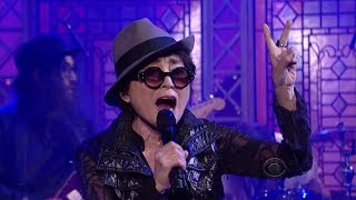 "[HD] Yoko Ono Plastic Ono Band - ""Cheshire Cat Cry"" (feat. The Flaming Lips) 10/2/13 David Letterman"