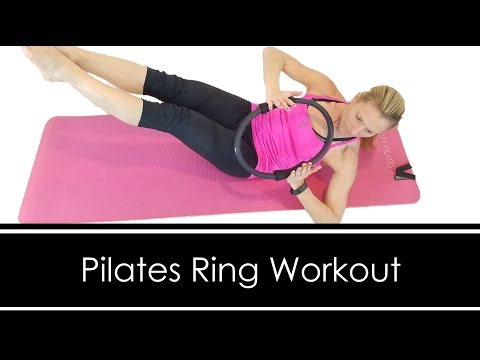 PILATES RING WORKOUT: FULL BODY 20 MINUTES