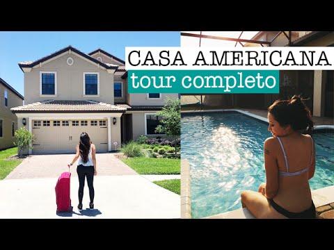 Morando em uma casa americana | TOUR COMPLETO