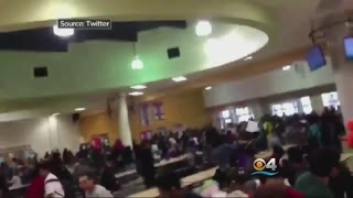 Vandalism & Massive Food Fight At Monarch High School