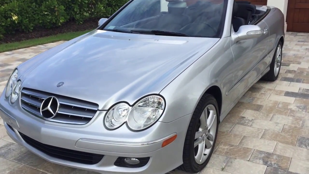 2006 Mercedes Benz Clk350 Convertible Review And Test Drive By Bill Auto Europa Naples