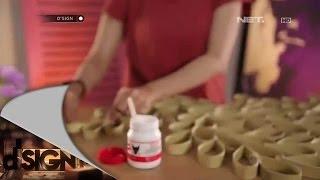 Dsign - DIY - Hiasan Dinding Daun