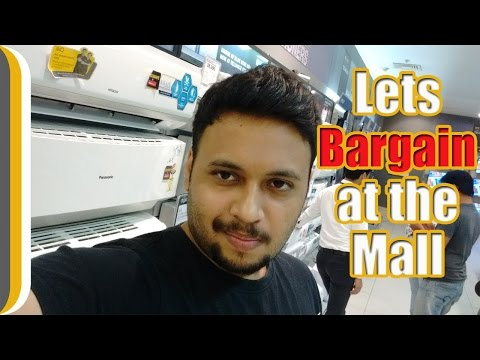 Ur Indian Consumer Bargains at the Mall !