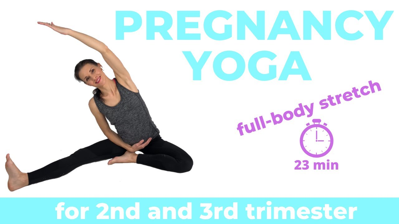 Pregnancy Yoga For Second Trimester Youtube