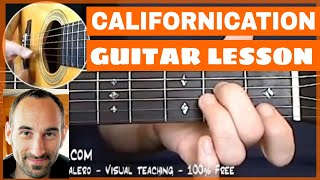 Californication Guitar Lesson - part 1 of 4