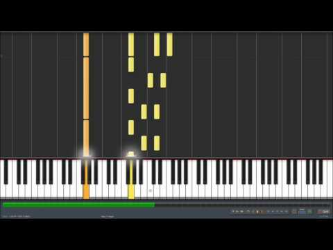 John Lennon  Imagine on Synthesia