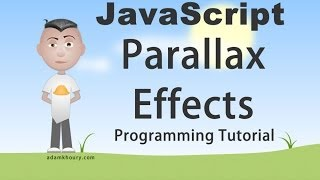 Parallax Scroll Effect Tutorial JavaScript Animation Programming