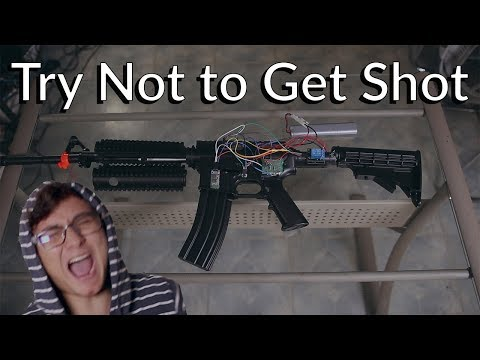 A Robot Shoots Me When I Get Shot in Fortnite