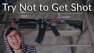 A Robot Shoots Me When I Get Shot In Fortnite