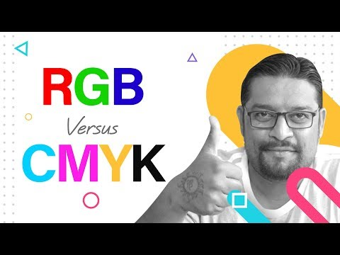 learn the difference between RGB and CMYK? In Hindi