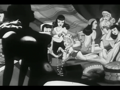 CARTOON THEATER 5 Private Snafu Booby Traps HD SEXY HAREM GIRLS created by Theodore Geisel Dr. Seuss