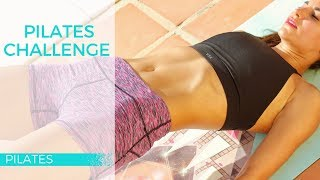 Pilates Challenge for Tight Abs, Toned Legs & Lifted Glutes