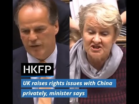 Britain raises Hong Kong human rights issues with China in private, minister Mark Field says