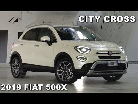 2019 fiat 500x city cross youtube. Black Bedroom Furniture Sets. Home Design Ideas