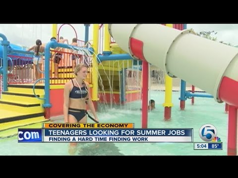 Teenagers looking for summer jobs