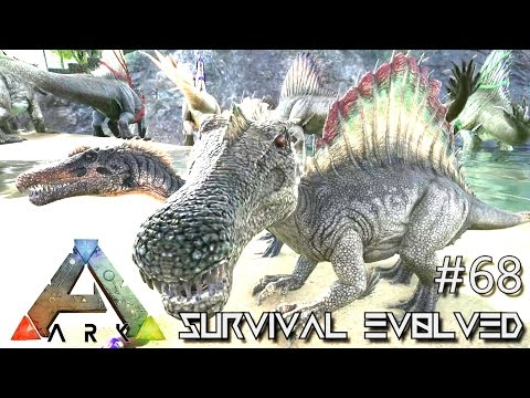 ARK: Survival Evolved - SPINO BABIES Lvl 200+ BEST YET BREED