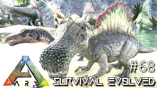 ARK: Survival Evolved - SPINO BABIES Lvl 200+ BEST YET BREEDING !!! - SEASON 3 [S3 E68] (Gameplay)