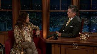 Late Late Show with Craig Ferguson 5/8/2012 Steven Tyler, Jaime King