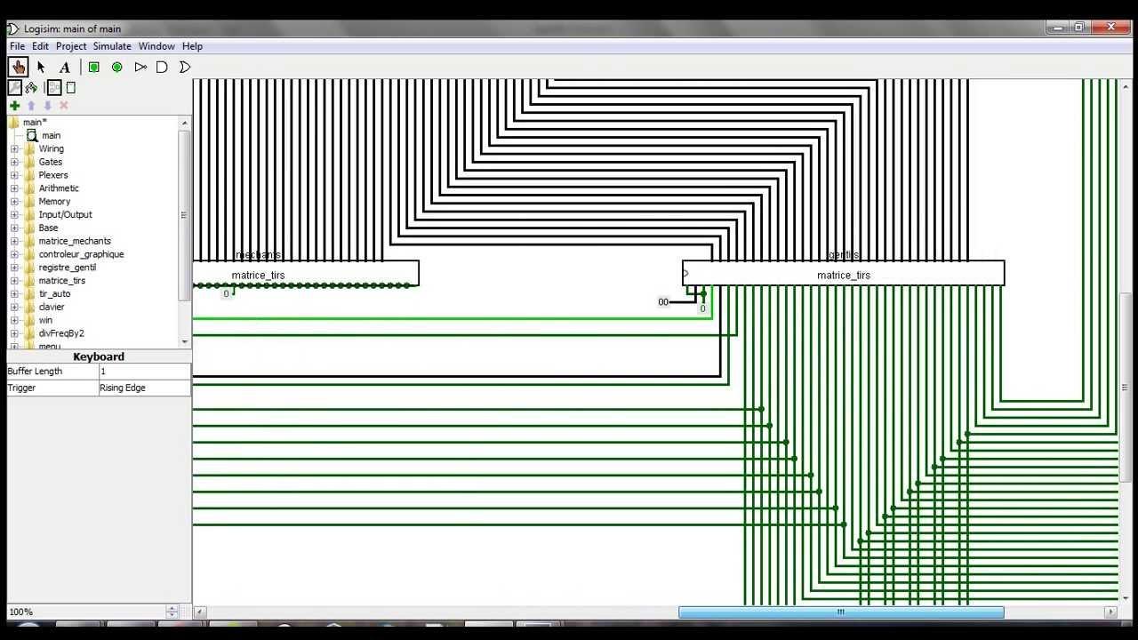 Logisim space invaders impl ment au niveau logique for Porte logique