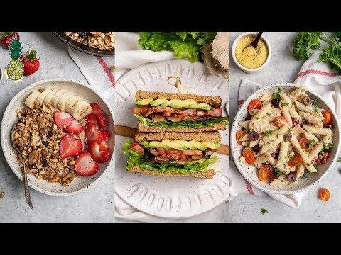 Lazy 15-Minute Vegan Meals | Breakfast, Lunch & Dinner