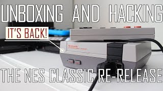 Unboxing and hacking the 2018 NES Classic re-release | hakchi2CE