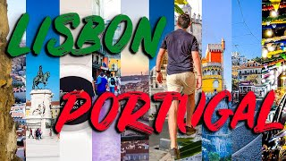10 THINGS TO SEE in LISBON PORTUGAL - Lisbon Travel Guide (Lisbon Vlog)