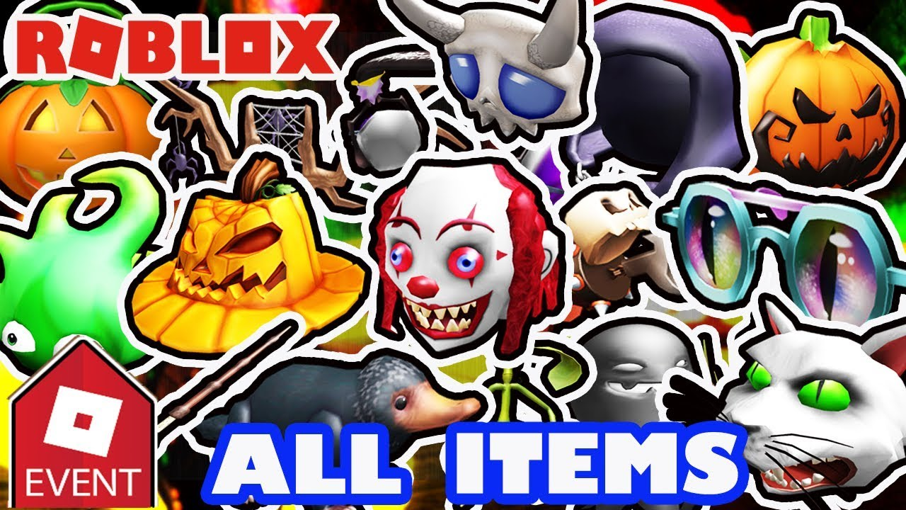 Event How To Get All Items Roblox 2018 Halloween Event