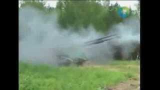Выстрел из САУ   2С35 «Коалиция СВ»