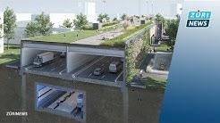 Einhausung Schwamendingen: So sieht die riesige Baustelle aus