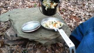 Camp Cooking: Chicken Noodle Soup