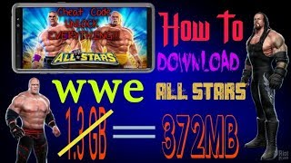 wwe all stars highly compressed psp