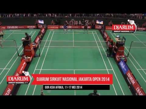 Fran Kurniawan/Komala D (Djarum Kudus) VS Trikus H/Vita Marissa (Tjakrindo Master/Djarum Kudus)