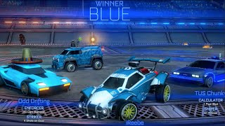 Rocket League 4v4 Crew! ONLINE Live Comm! I SAVED THAT??