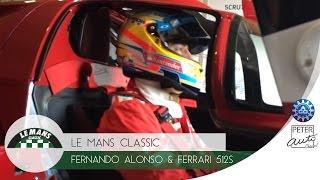 Fernando Alonso & Ferrari 512 S - Le Mans 2014